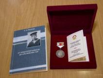 Вручение медалей «Во славу Осетии» Сергею Никитовичу Решетову и Сергею Георгиевичу Нигкоеву