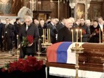 Прощание с Ю.Лужковым — 4