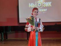 Виктория Цамакаева на конкурсе русской песни  1