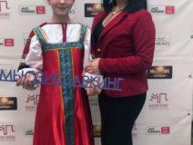 Виктория Цамакаева на конкурсе русской песни  2